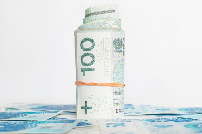 Waluta – pieniądze – faktura – finanse