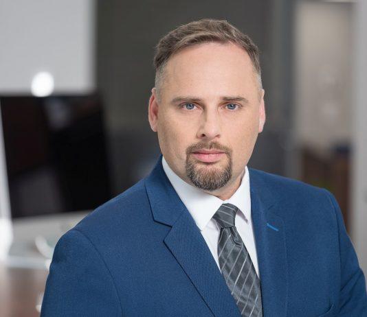 Mateusz Macierzyński, kierownik ds. produktów ITS w firmie Konica Minolta
