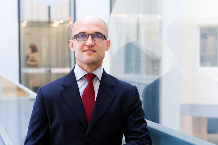 Robert Majkowski, prezes zarządu Funduszu Hipotecznego DOM