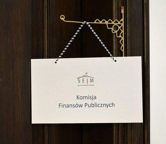 Sejmowa Komisja Finansów Publicznych