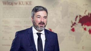 Tomasz Ślagórski, wiceprezes Korporacji Ubezpieczeń Kredytów Eksportowych