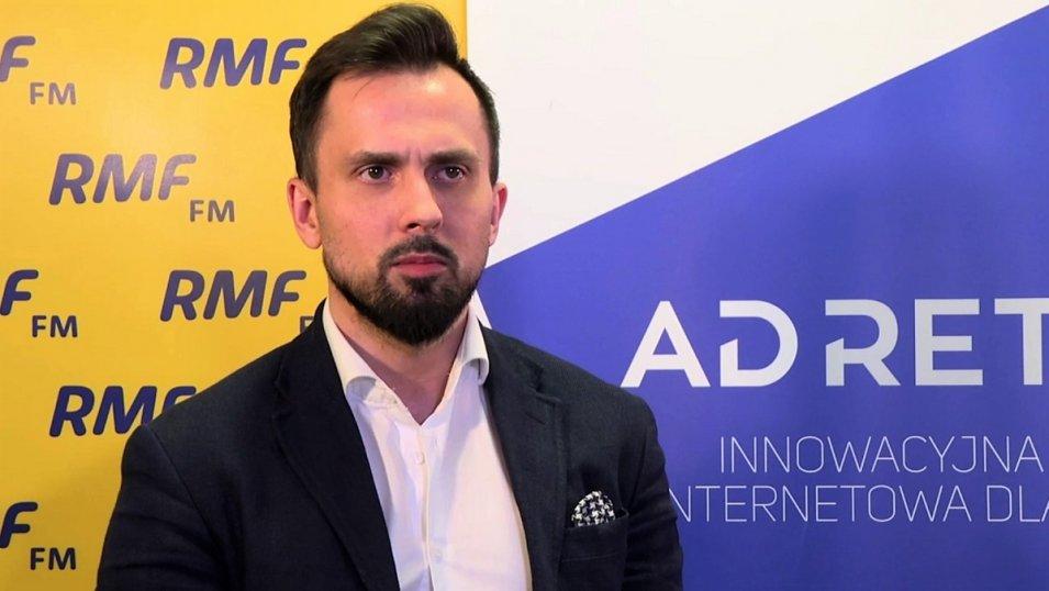 Maciej Tygielski, szef sprzedaży w Grupie AdRetail