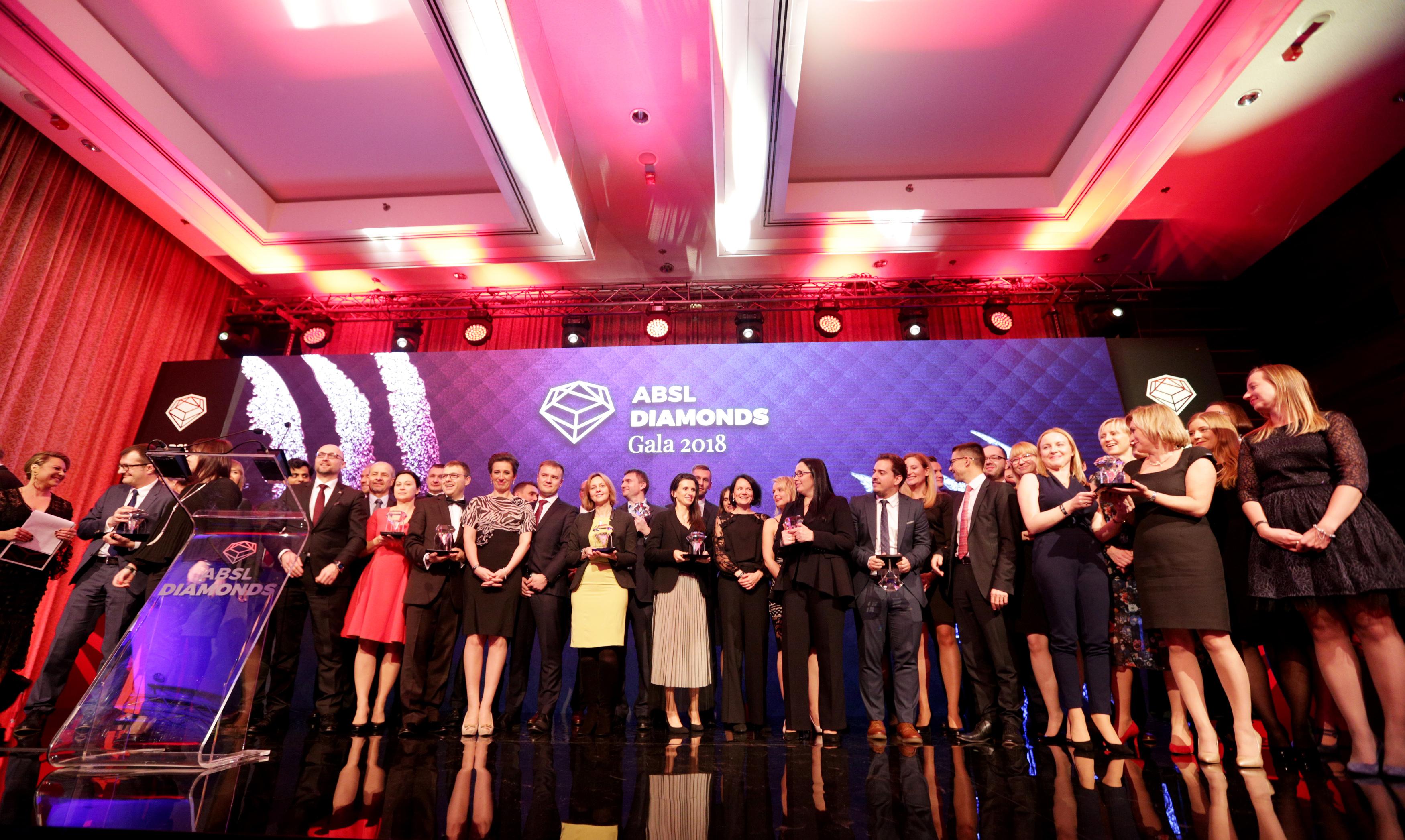 Zwycięzcy ABSL Diamonds Awards 2018