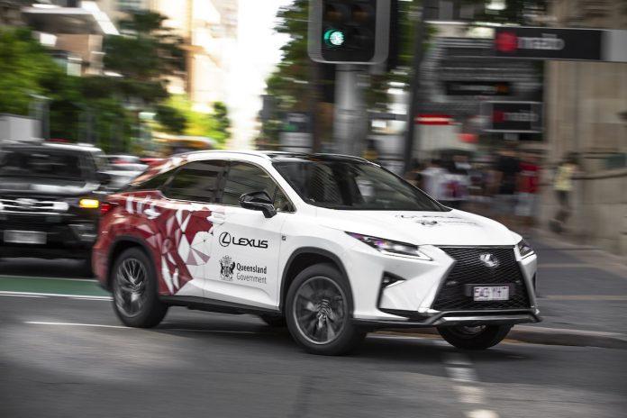 Lexus RX connected car
