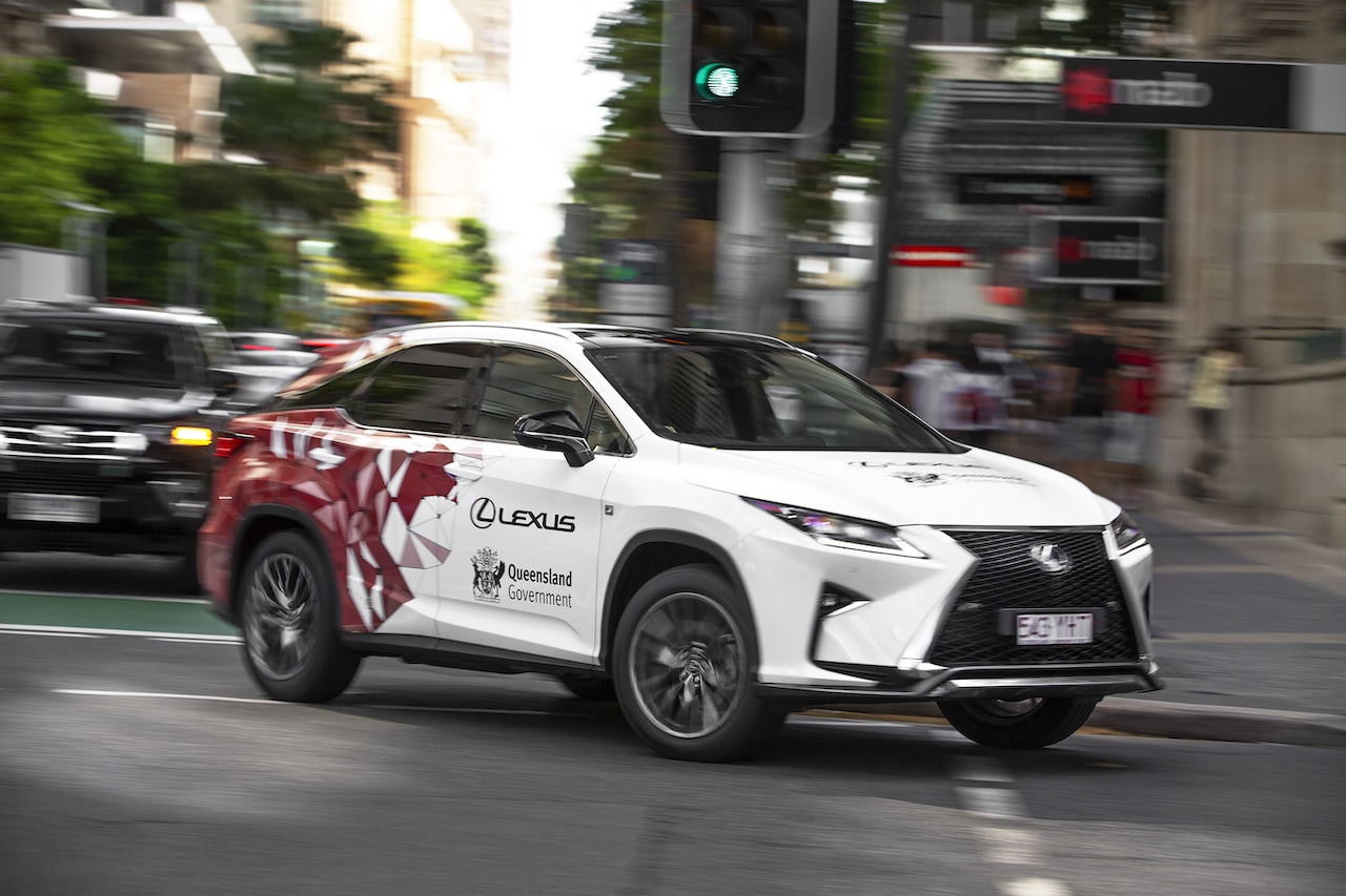 Lexus RX connected car