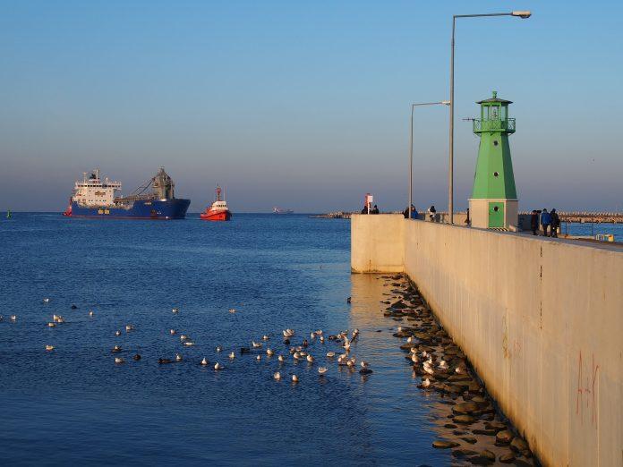statek polskie morze