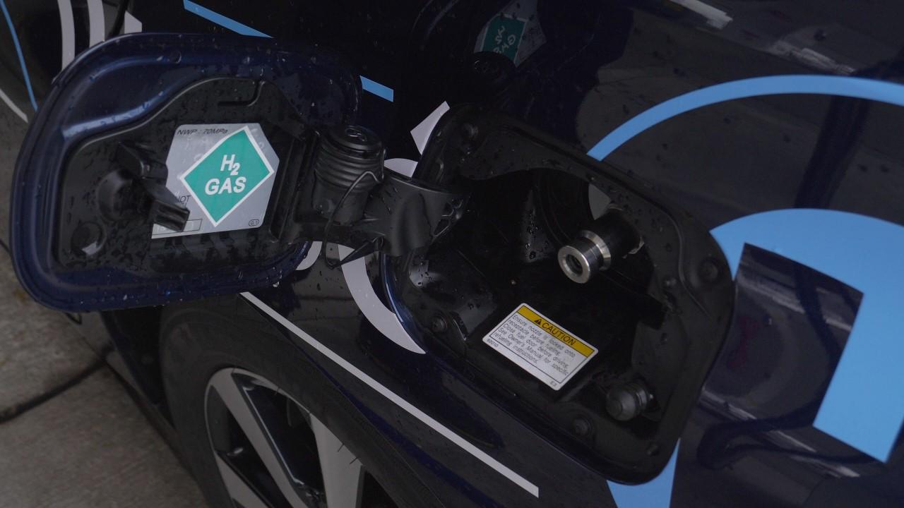 wodór ładowanie samochód