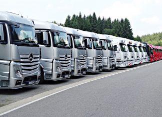 mercedes ciężarówka
