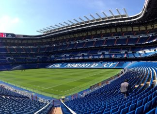 stadion piłka nożna real madryt