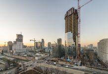 Mennica Legacy Tower_budowa 2
