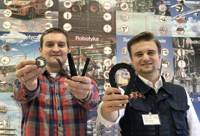 Michał Obrębski i Hubert Kowalczyk, igus Polska