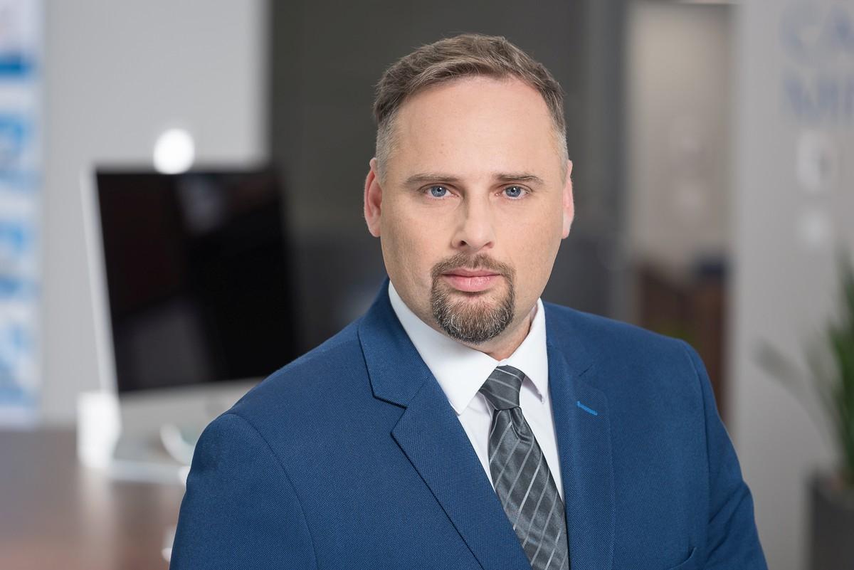 Mateusz Macierzyński, menedżerds. systemów ITSw firmie KonicaMinolta