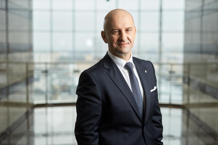 Paweł Pach, Prezes Zarządu PKO Leasing S.A.