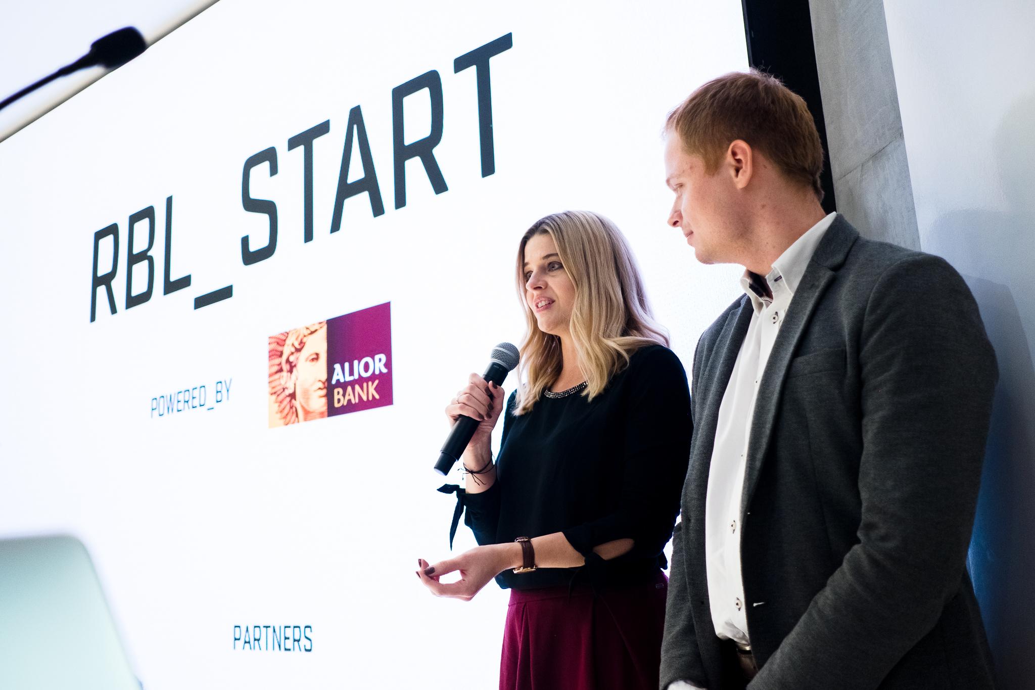 RBL_START mentorzy - Kamila Wincenciak, Konrad Radzik