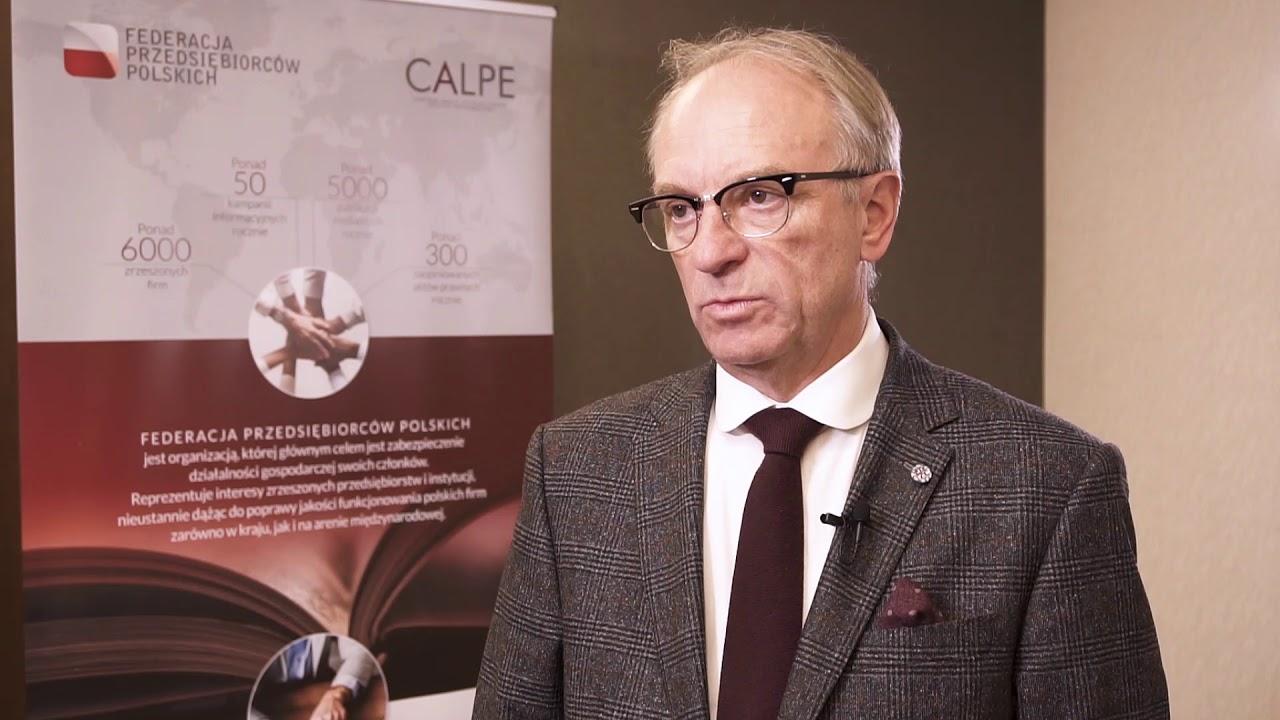 Marek Kowalski, przewodniczący Federacji PrzedsiębiorcówPolskich