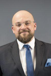 Damian Ziąber - dyrektor Biura Komunikacji Korporacyjnej Grupy PZU
