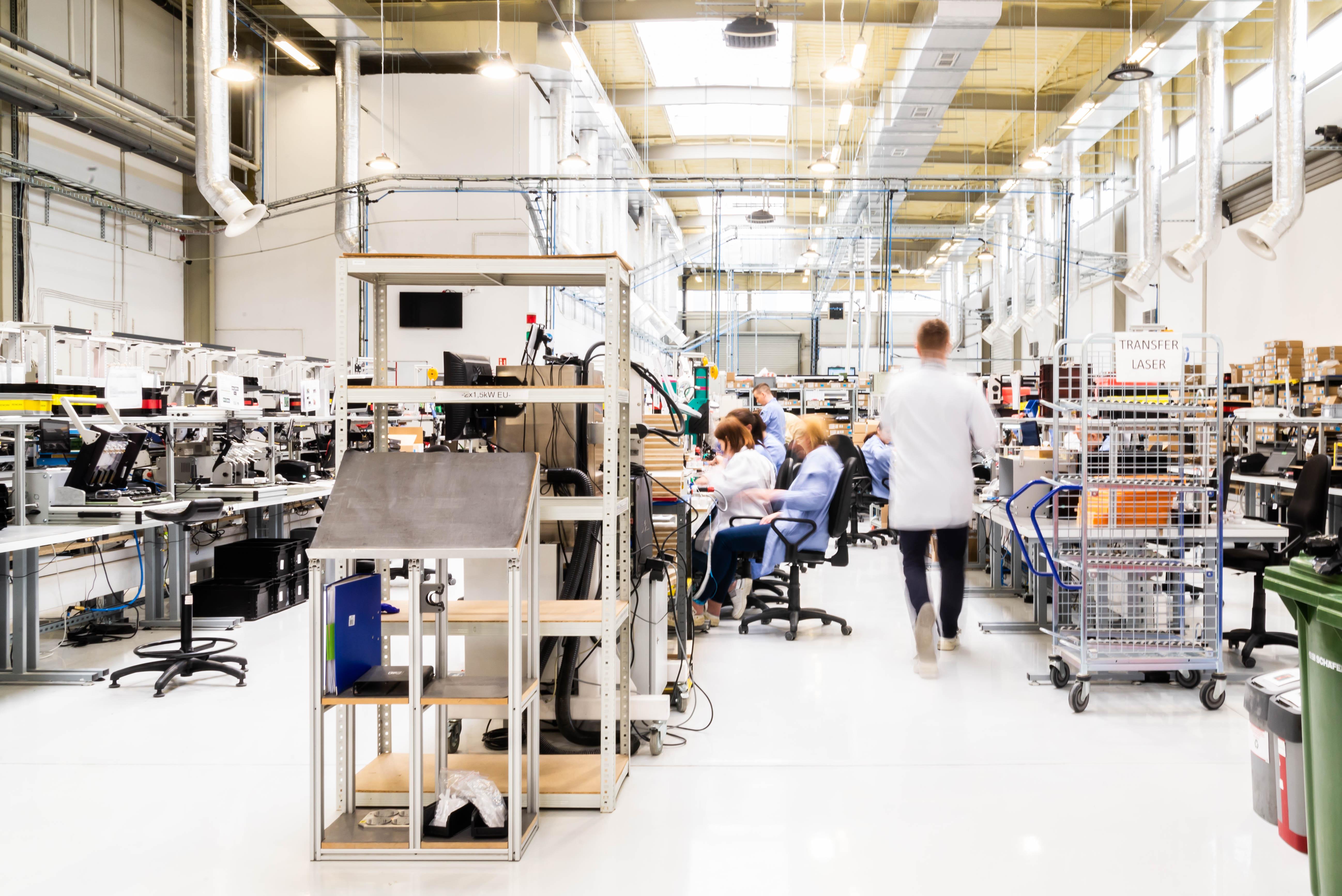 Fabryka FIBARO w podpoznańskim Wysogotowie (3)