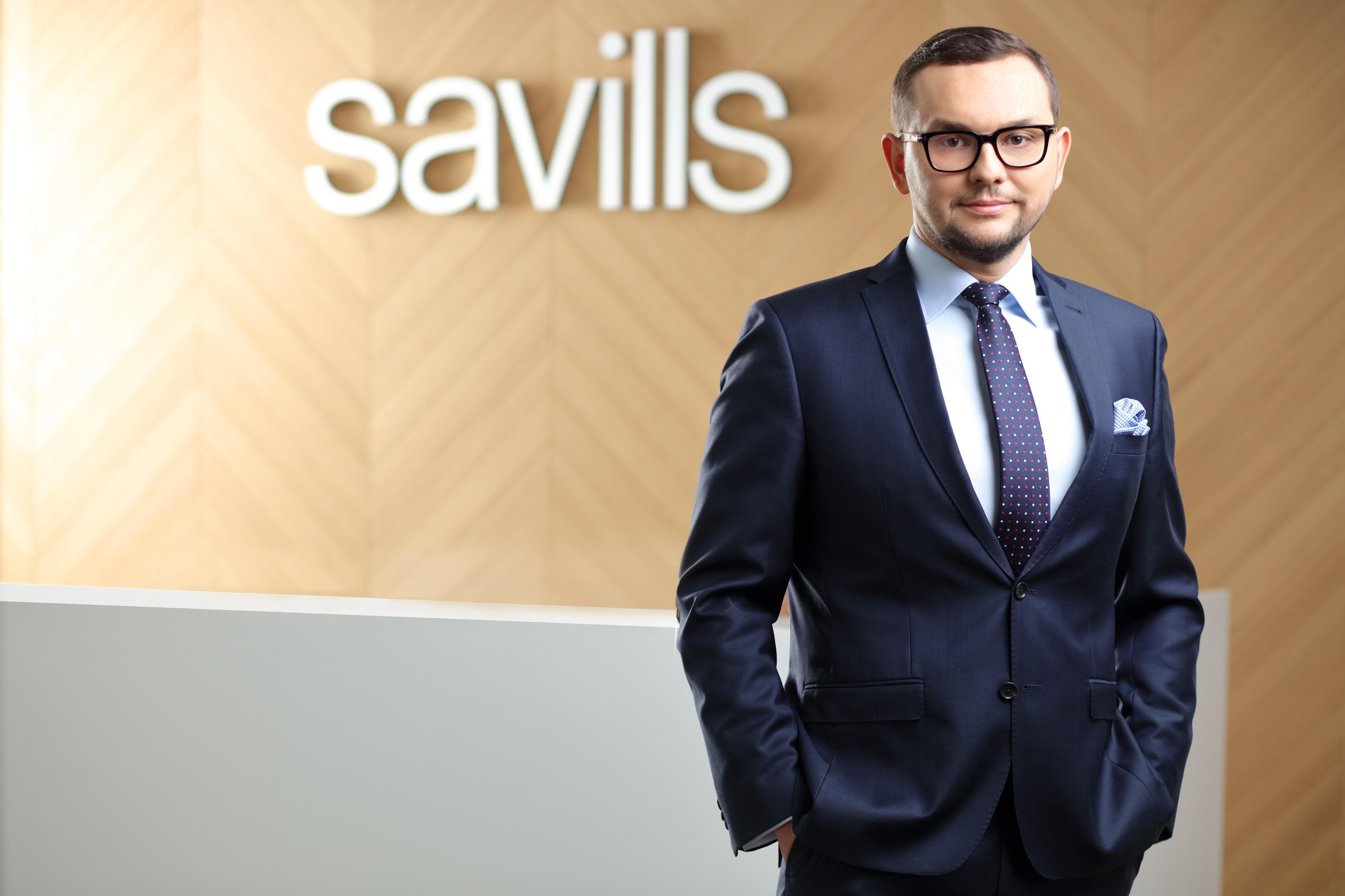 Kamil Kowa, członek zarządu Savills w Polsce