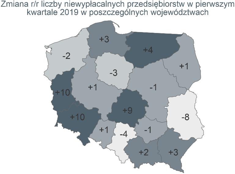 Rekordowo wysoka kwartalna liczba niewypłacalności polskich firm 6