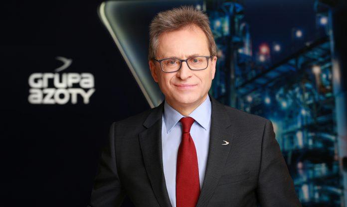 dr Wojciech Wardacki, Prezes Zarządu Grupy Azoty Police oraz Grupy Azoty