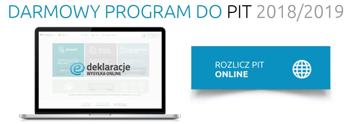 Rozlicz PIT przez telefon Programem PIT Pro 2018/2019 online