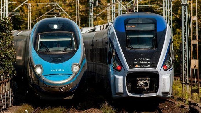 pkp koleje pociąg