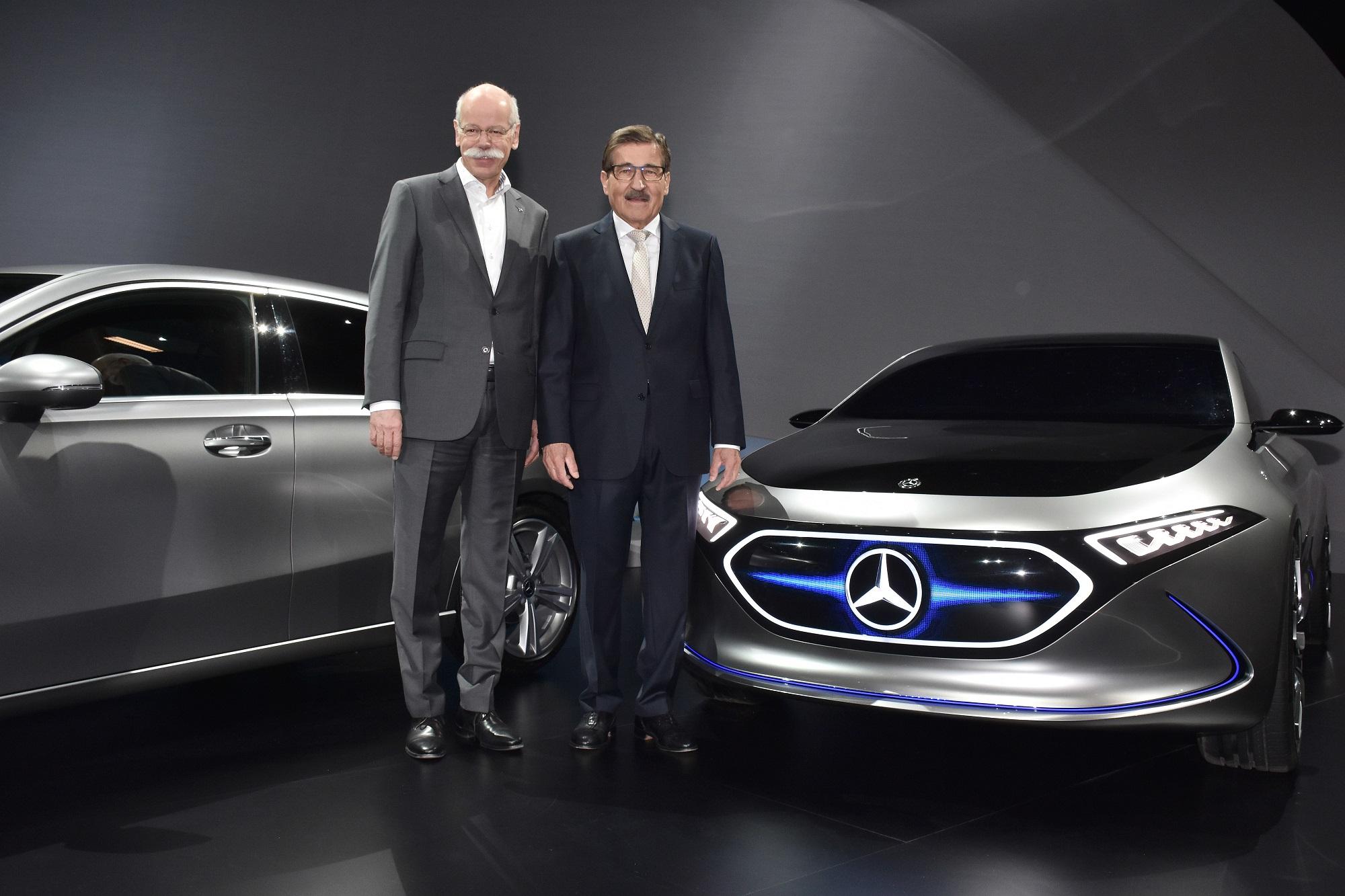 Hauptversammlung der Daimler AG am 5. April 2018 in Berlin. Annual General Meeting of Daimler AG on April 5, 2018 in Berlin.
