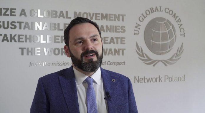 Kamil Wyszkowski, reprezentant i prezes Global Compact w Polsce