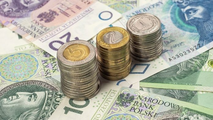 zloty de dinero