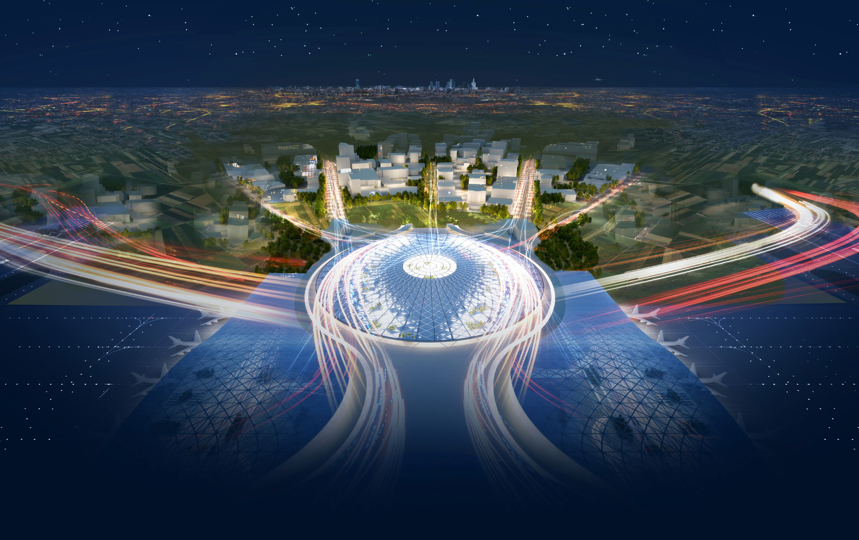 Centralny Port Komunikacyjny – Grimshaw Architects