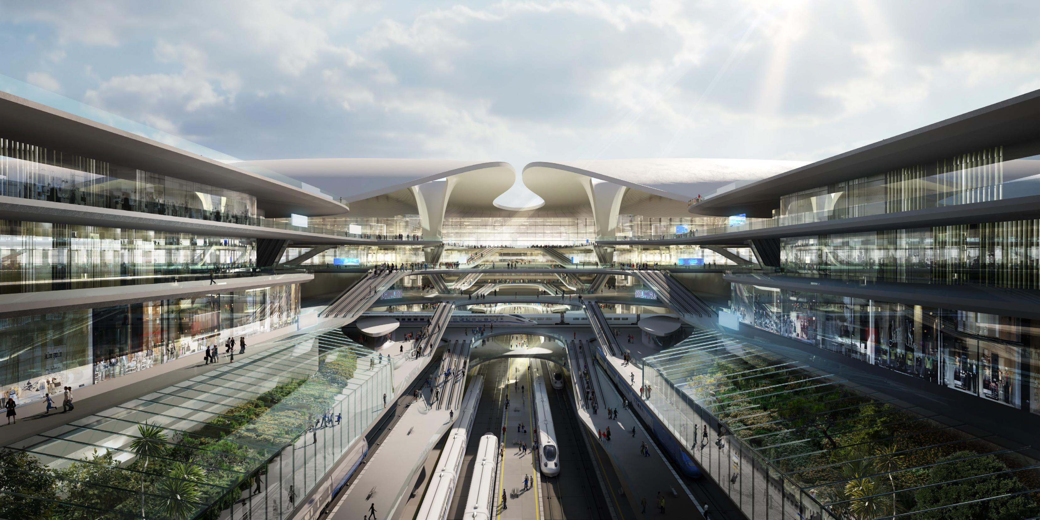 Centralny Port Komunikacyjny – Zaha Hadid Architects