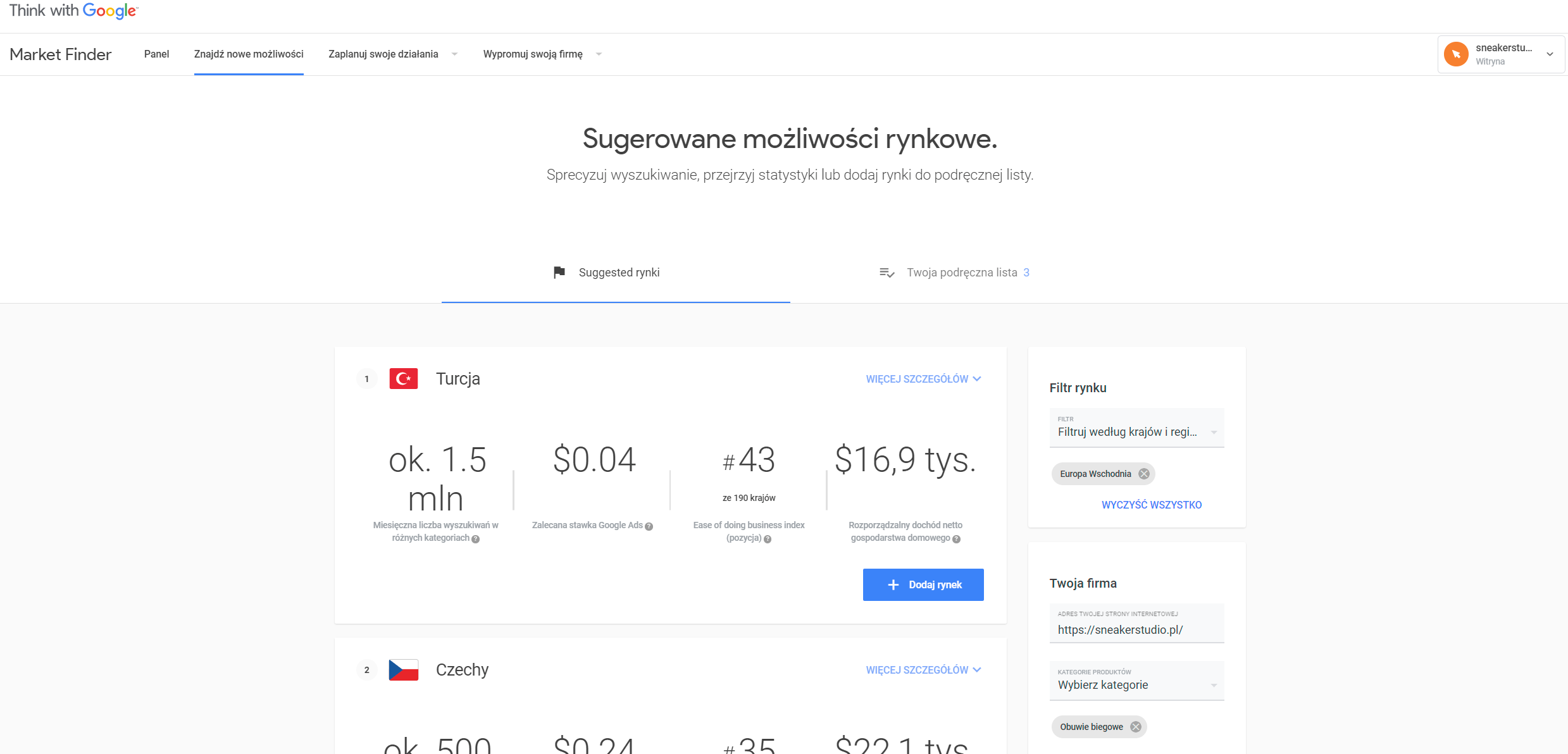 Market Finder już w Polsce – narzędzie Google, które pomoże małym i średnim firmom w eksporcie