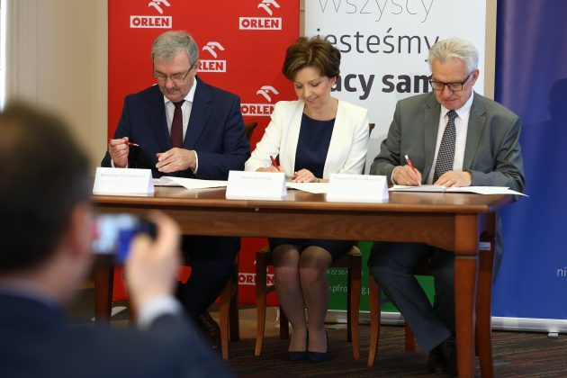 ORLEN i PFRON podpisały deklarację o współpracy (2)