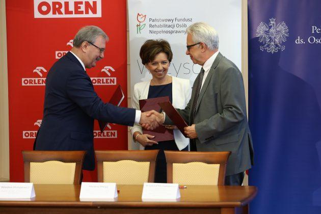 ORLEN i PFRON podpisały deklarację o współpracy (5)