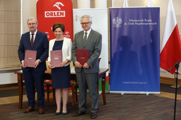 ORLEN i PFRON podpisały deklarację o współpracy (7)