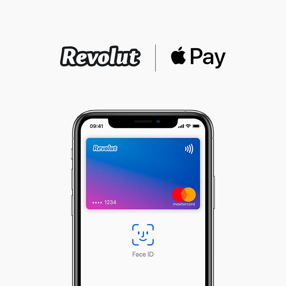 Revolut z Apple Pay na 16 rynkach w Europie