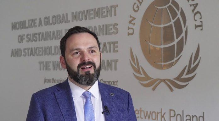 Kamil Wyszkowski, reprezentant i prezes Generalny Global Compact w Polsce