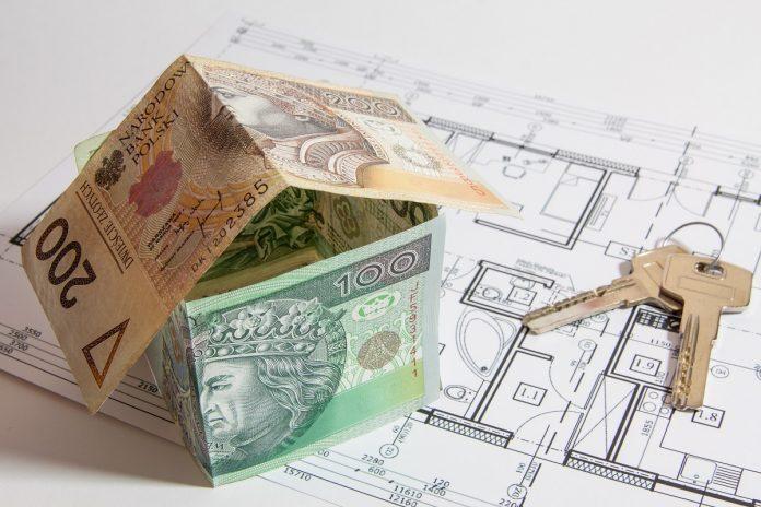 Casa hecha de dinero