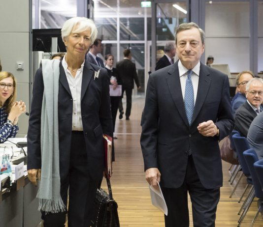 Christine Lagarde, Mario Draghi- EBC