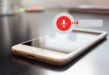 Głos – interfejs użytkownika – telefon google