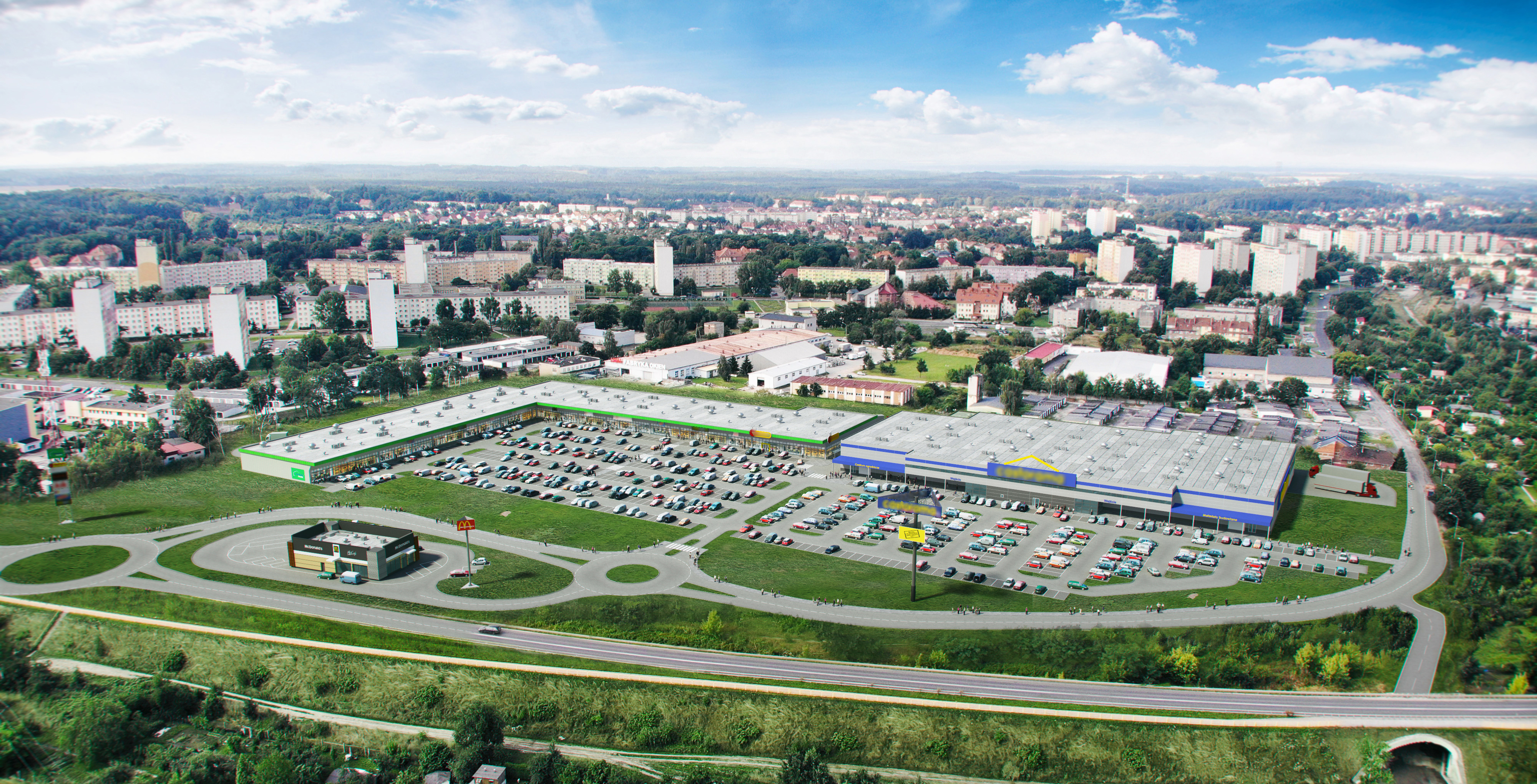 Trei Real Estate - Vendo Park w Bolesławcu - wizualizacja