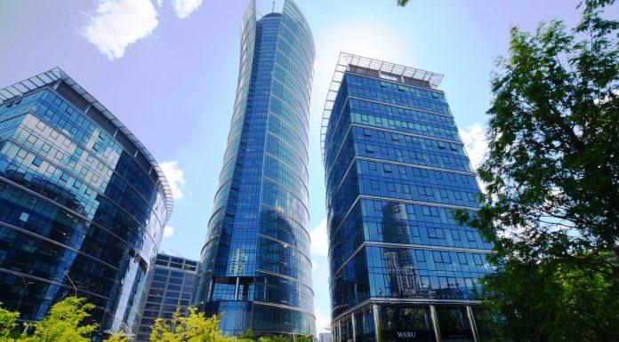 Warszawa; Plac Europejski fot. Walter Herz