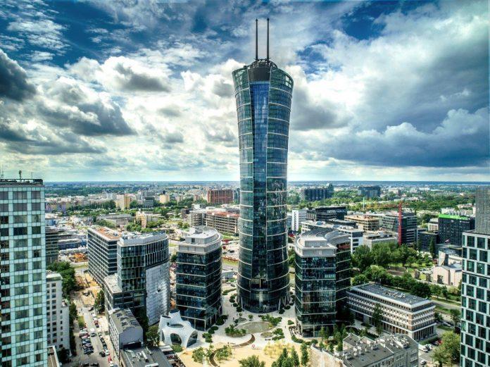 Wieża Warsaw Spire – Warszawa (1)