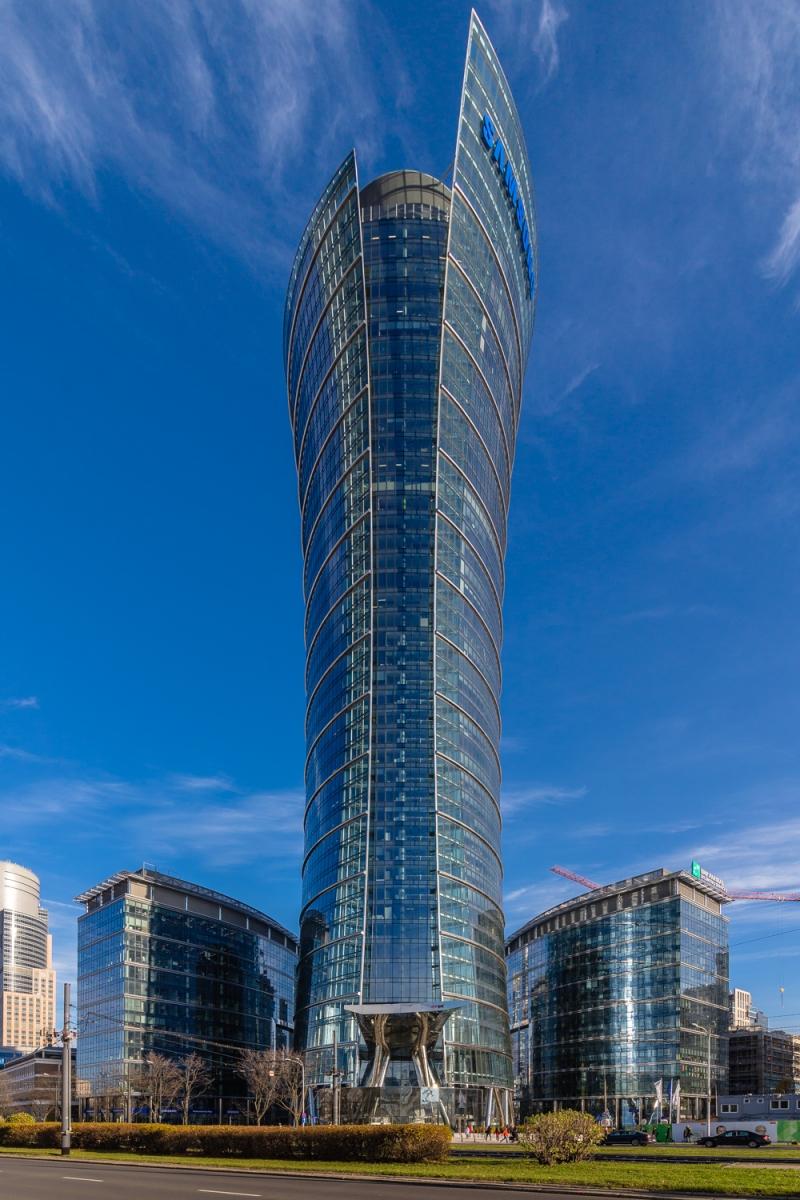 Wieża Warsaw Spire – Warszawa (3)
