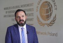 Kamil Wyszkowski, reprezentant i prezes rady GlobalCompactNetwork Poland
