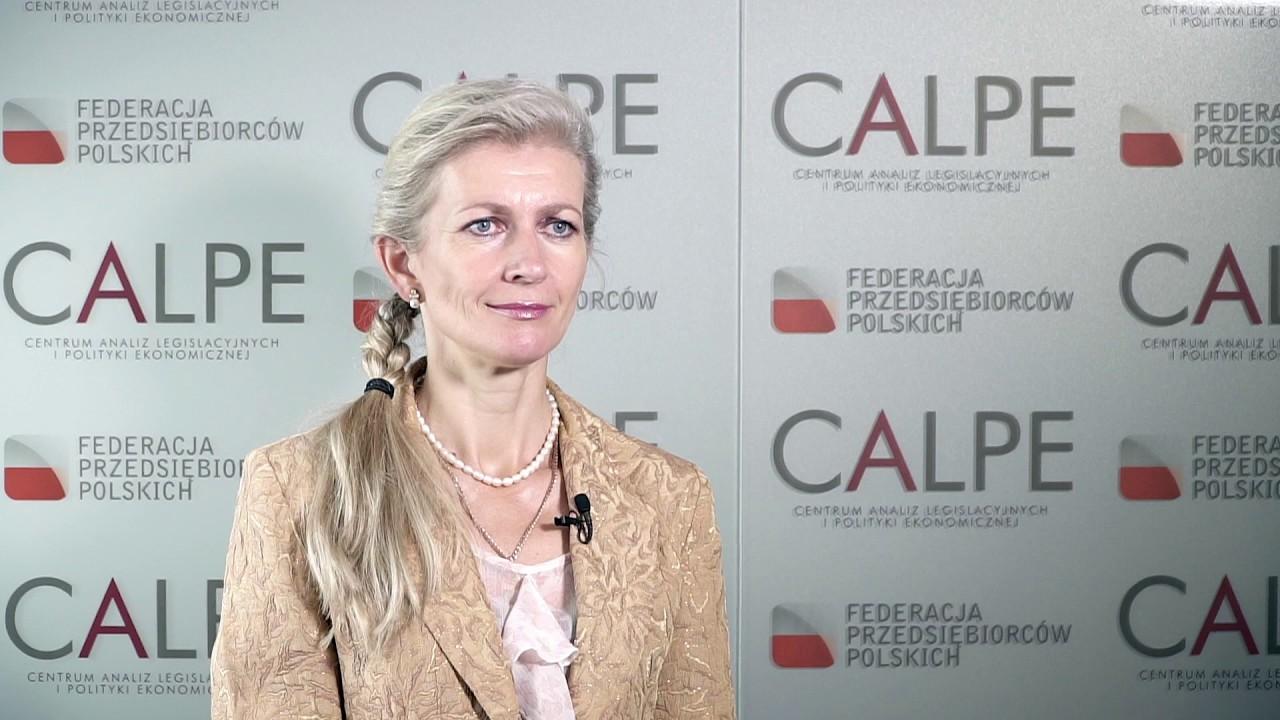 Grażyna Spytek-Bandurska, ekspert Federacji Przedsiębiorców Polskich
