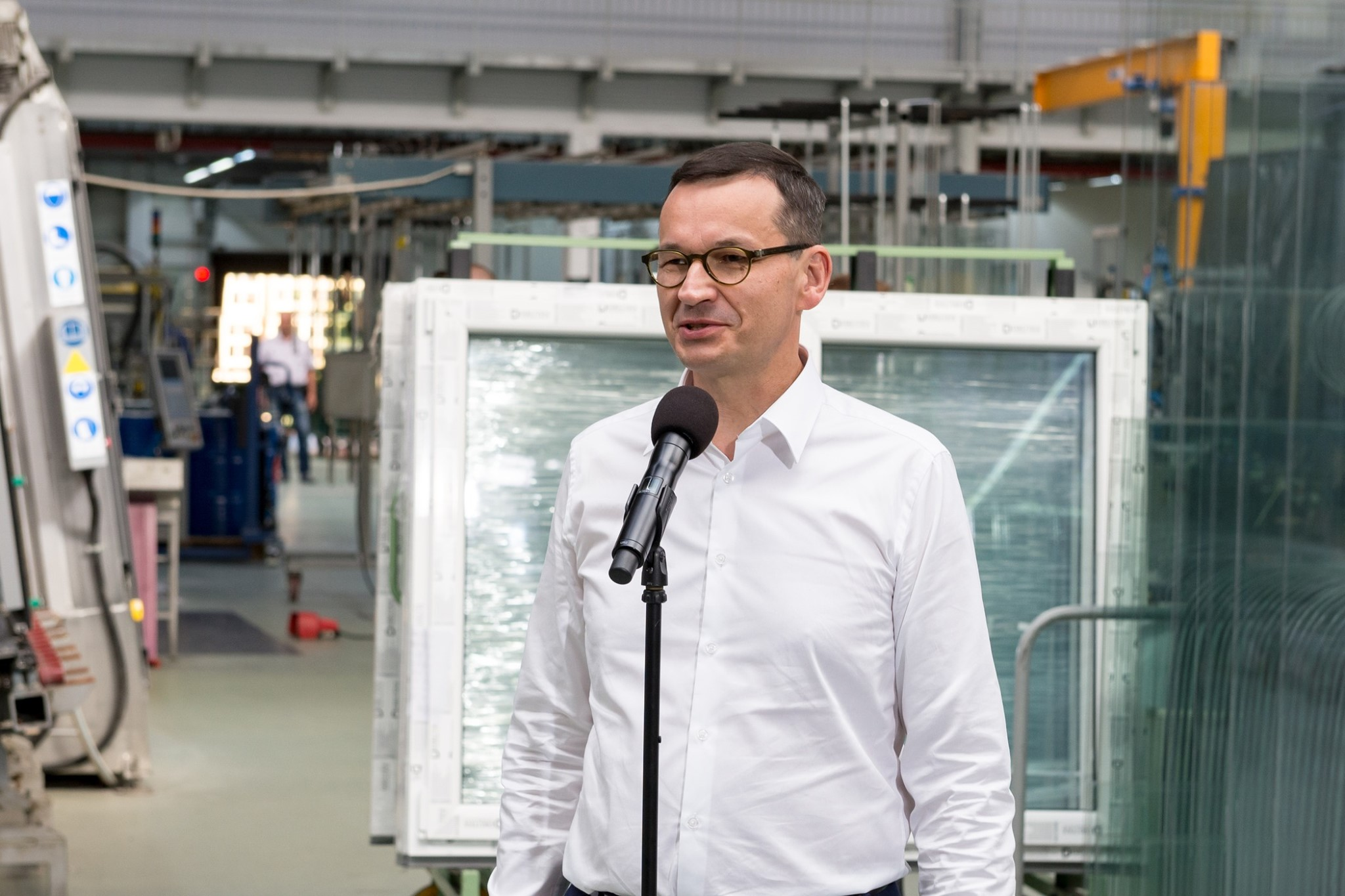 Premier Morawiecki gościem DRUTEX SA