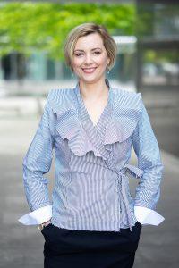 Magdalena Gniazdowska,Associate w dziale powierzchni handlowych, Cushman & Wakefield