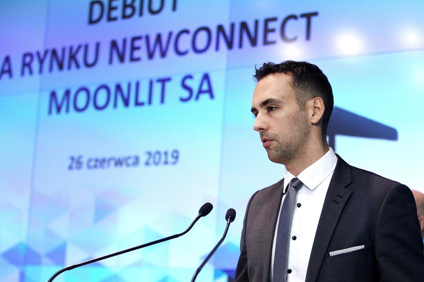 Michał Gardeła, prezes Moonlit