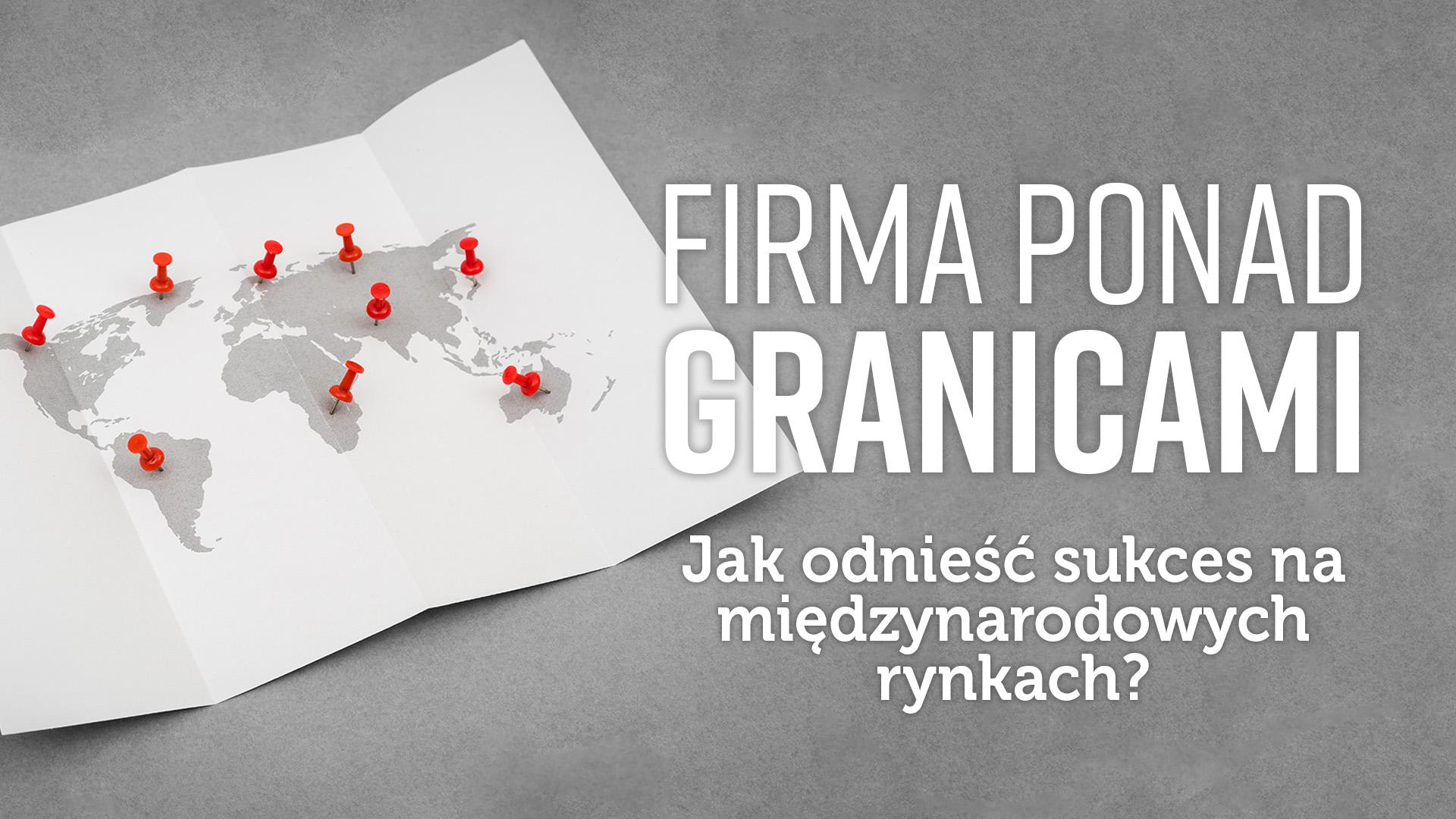 Firma ponad granicami tytuł PL